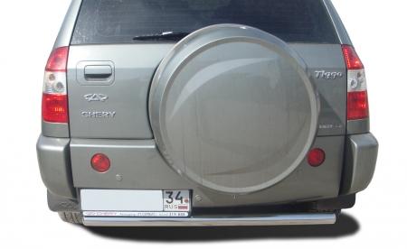 CHERY   Tiggo 2012  Защита заднего бампера   60